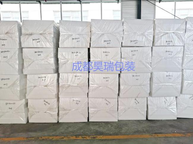 昊瑞包装客户案例-成都**环保包装有限公司定制EPE珍珠棉条