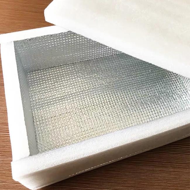 珍珠棉铝箔保温盒